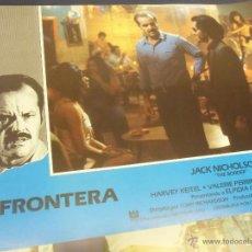 CINE-FOTOGRAMAS. La frontera, Jack Nicholson. 1982. 4 fotogramas