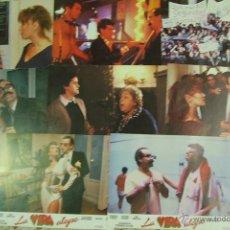 Cine: LA VIDA ALEGRE (8 FOTOCROMOS) VERONICA FORQUE + ANTONIO RESINES + ANA OBREGON. Lote 51222824