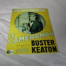 Cine: POSTAL BUSTER KEATON . Lote 51237515