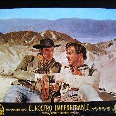 Cine: FOTO CROMO. EL ROSTRO IMPENETRABLE, POR MARLON BRANDO (III). Lote 51634310