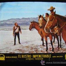 Cine: FOTO CROMO. EL ROSTRO IMPENETRABLE, POR MARLON BRANDO (II). Lote 51634314