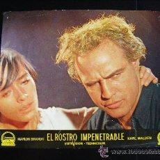 Cine: FOTO CROMO. EL ROSTRO IMPENETRABLE, POR MARLON BRANDO (I). Lote 51634320