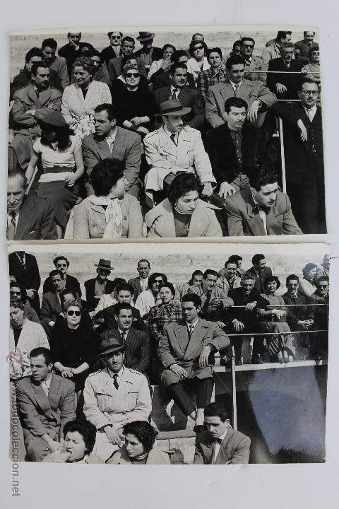 F-635. LUIS SAZATORNIL EN UNAS ESCENAS DE RODAJE. CON SOMBRERO Y GABARDINA. AÑOS SESENTA. (Cine - Fotos y Postales de Actores y Actrices)