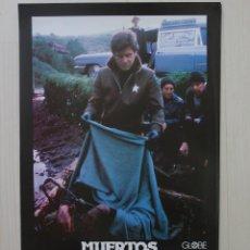 Cine: MUERTOS Y ENTERRADOS - TERROR - 11 FOTOCROMOS ORIGINALES. Lote 51979601