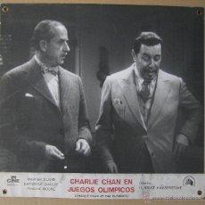 Cine: CHARLIE CHAN EN LOS JUEGOS OLÍMPICOS. WARNER OLAND. CARTELERA.. Lote 51984583