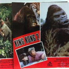 Cine: KING KONG 2 LINDA HAMILTON JUEGO COMPLETO 10 GRAN TAMAÑO. Lote 52383290