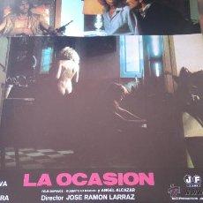 Cine: LA OCASIÓN. 9 FOTOGRAMAS O FOTOCROMOS. ORIGINALES. Lote 52444942