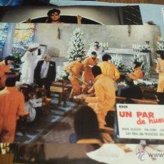 Cine: UN PAR DE HUEVOS. 10 FOTOCROMOS O FOTOGRAMAS. ORIGINALES. Lote 52457840