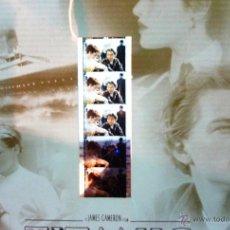 Cine: 4 FOTOCROMOS PELICULA TITANIC - JAMES CAMERON 1998 UNO CON 4 FILMINAS 21 / 21 CM. Lote 52588909