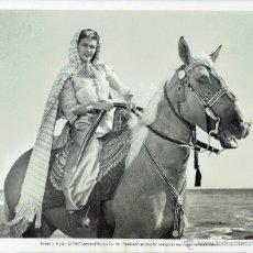 Cine: YVONNE DE CARLO EN SHEIK - 1947 - FOTO DE PRENSA UNIVERSAL PICTURES. Lote 52723547