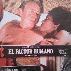 Cine: EL FACTOR HUMANO. 10 FOTOGRAMAS O FOTOCROMOS. ORIGINALES.MOVIE. Lote 52738767
