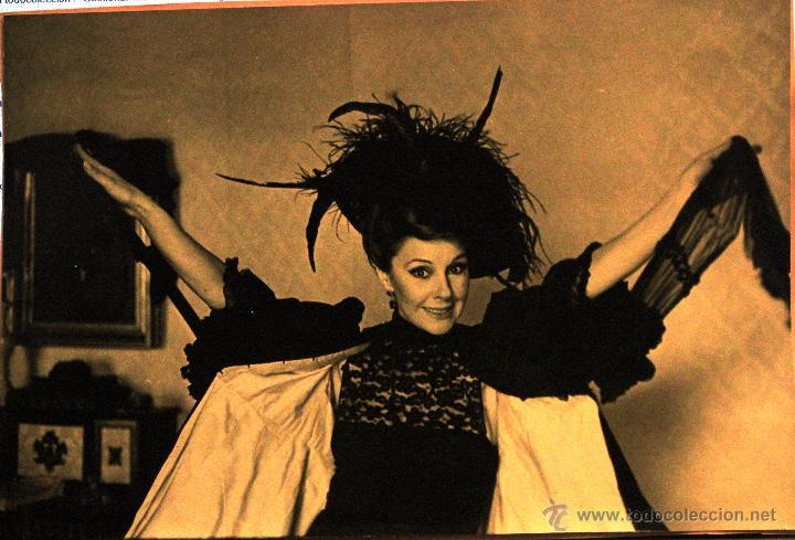 FOTOGRAFÍAS (3) DE LOLA HERRERA -A ELECTRA LE SIENTA BIEN EL LUTO- EXCLUSIVAS 1985 (Cine - Fotos y Postales de Actores y Actrices)