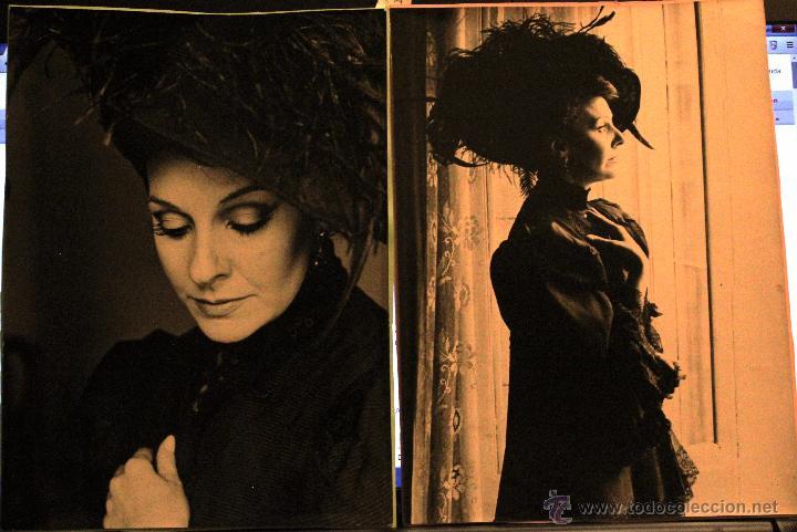 Cine: FOTOGRAFÍAS (3) DE LOLA HERRERA -A ELECTRA LE SIENTA BIEN EL LUTO- exclusivas 1985 - Foto 2 - 52770721