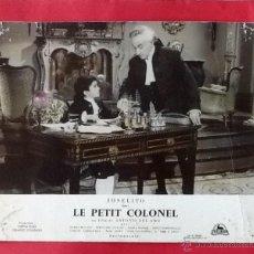 Cine: CARTELERA ORIGINAL. JOSELITO. LE PETIT COLONEL. 1960. ENVIO INCLUIDO.. Lote 52821389