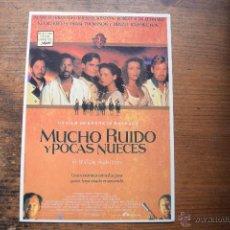 Cine: POSTAL DE MUCHO RUIDO Y POCAS NUECES, FILM POSTERS. Lote 52982187