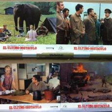 Cine: EL ULTIMO OBSTACULO OLIVER REED MICHAEL J. POLLARD SET COMPLETO 12 . Lote 53142031