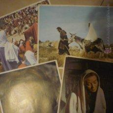 Cine: LOTE FOTOCROMOS PELICULA RELIGIOSA--SON IMPRESOS EN INGLATERRA--BB. Lote 53170855
