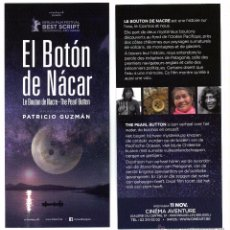 Cine: EL BOTÓN DE NÁCAR, DE PATRICIO GUZMAN.. Lote 118424887