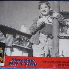 Cine: MARCELINO PAN Y VINO. CARTELERA REPOSICIÓN. 1979. Lote 53623086