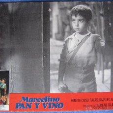 Cine: MARCELINO PAN Y VINO. CARTELERA REPOSICIÓN. 1979. Lote 53623109