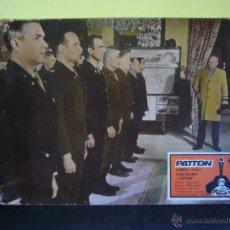 Cine: PATTON GEORGE C. SCOTT FOTOCROMO ORIGINAL EN CARTON DURO DEL ESTRENO(17). Lote 53636674