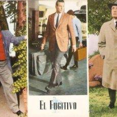 Cine: POSTAL EL FUGITIVO 579. OSCAR COLOR 1955. GRANDE. 14,7X 20CMS. VELL I BELL. Lote 53639967