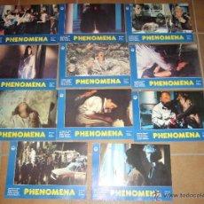 Cine: PHENOMENA DARIO ARGENTO GIALLO JENNIFER CONNELLY 11 FOTOCROMOS ORIGINALES Q. Lote 53793599