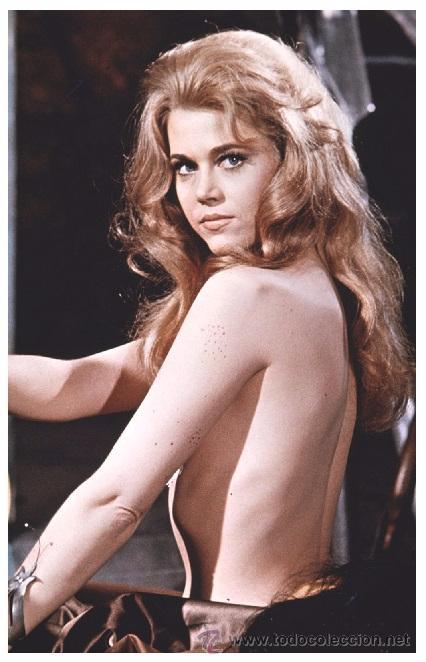 sexy jane fonda actress pin up postcard - publi - Buy Photos and ...