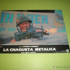 Cine: LOTE 5 FOTOCROMOS LA CHAQUETA METÁLICA STANLEY KUBRICK. Lote 54270836