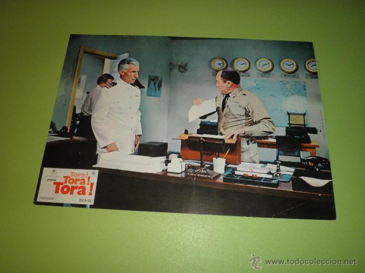 Cine: LOTE 7 FOTOCROMOS TORA TORA TORA Richard Fleischer Kinji Fukasaku Toshio Masuda FOTOCROMO CINE - Foto 2 - 54271392