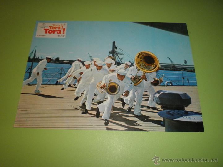 Cine: LOTE 7 FOTOCROMOS TORA TORA TORA Richard Fleischer Kinji Fukasaku Toshio Masuda FOTOCROMO CINE - Foto 5 - 54271392
