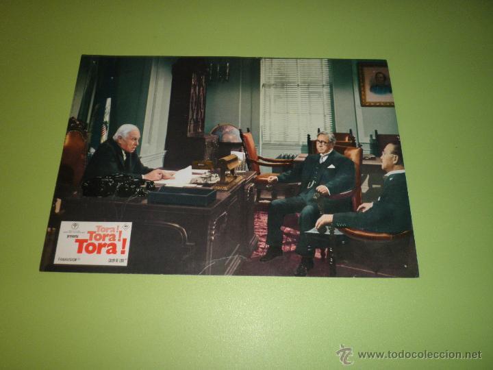 Cine: LOTE 7 FOTOCROMOS TORA TORA TORA Richard Fleischer Kinji Fukasaku Toshio Masuda FOTOCROMO CINE - Foto 7 - 54271392