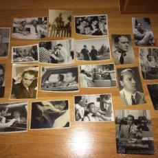 Cine: RAFAEL DURAN - LOTE 20 FOTOS ORIGINALES. Lote 54852779