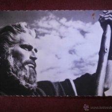 Cine: FOTO POSTAL - 830 - CHARLON HESTON - PAPEL MOISES - LOS DIEZ MANDAMIENTOS - 1956 - PARAMOUNT. Lote 54938084