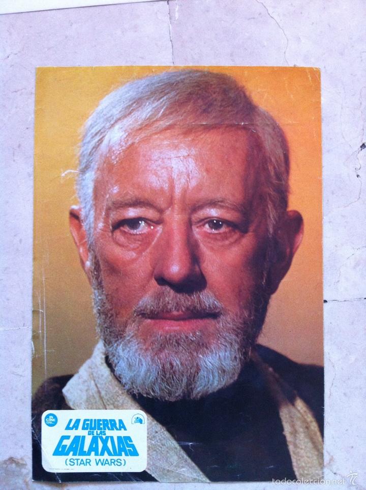 FOTOCROMOS LA GUERRA DE LAS GALAXIAS LOBBY CARDS STAR WARS - OBI WAN (Cine - Fotos, Fotocromos y Postales de Películas)