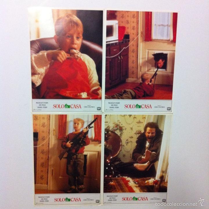 LOTE COMPLETO 12 FOTOCROMOS SOLO EN CASA LOBBY CARDS HOME ALONE (Cine - Fotos, Fotocromos y Postales de Películas)