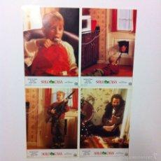 Cine: LOTE COMPLETO 12 FOTOCROMOS SOLO EN CASA LOBBY CARDS HOME ALONE. Lote 54999339