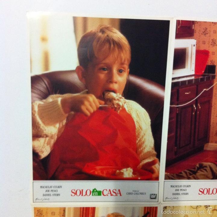Cine: Lote completo 12 fotocromos SOLO EN CASA lobby cards HOME ALONE - Foto 2 - 54999339