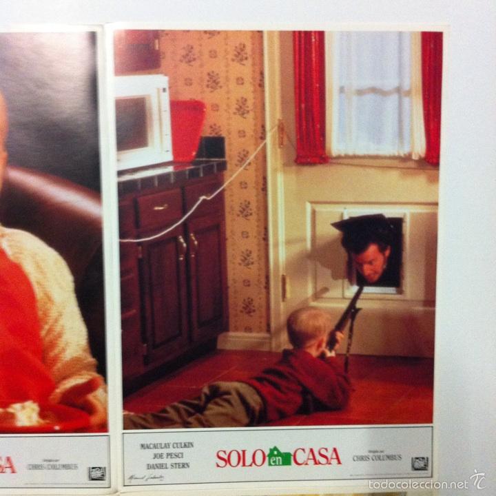Cine: Lote completo 12 fotocromos SOLO EN CASA lobby cards HOME ALONE - Foto 3 - 54999339