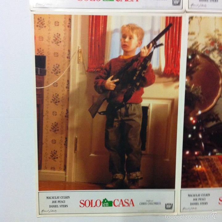 Cine: Lote completo 12 fotocromos SOLO EN CASA lobby cards HOME ALONE - Foto 4 - 54999339