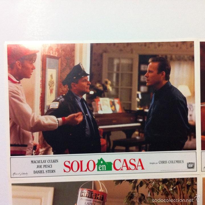 Cine: Lote completo 12 fotocromos SOLO EN CASA lobby cards HOME ALONE - Foto 6 - 54999339