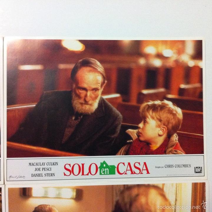 Cine: Lote completo 12 fotocromos SOLO EN CASA lobby cards HOME ALONE - Foto 7 - 54999339