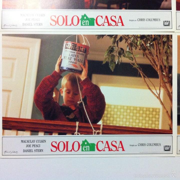 Cine: Lote completo 12 fotocromos SOLO EN CASA lobby cards HOME ALONE - Foto 8 - 54999339