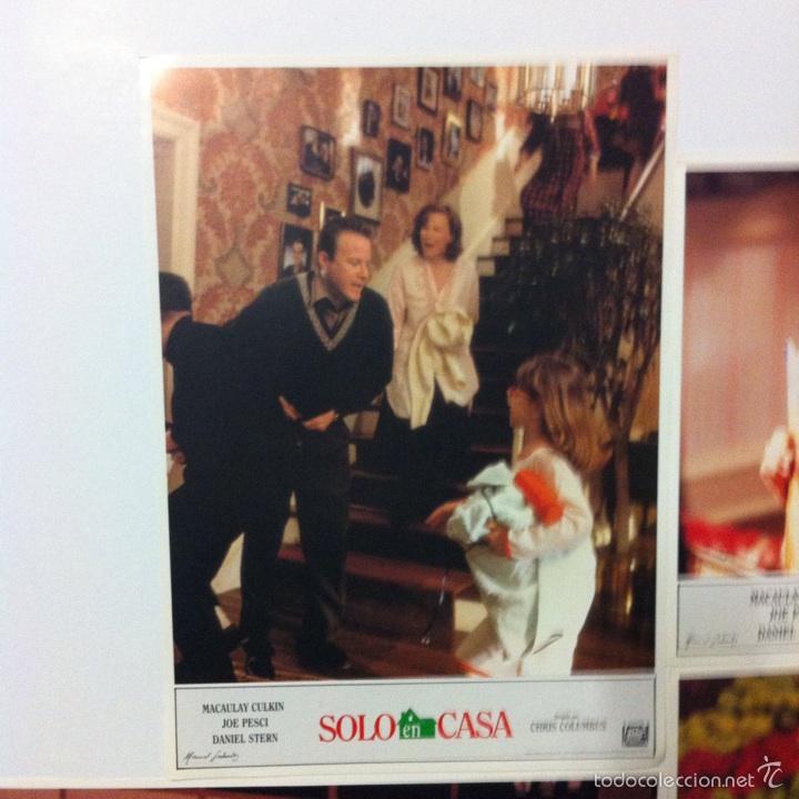 Cine: Lote completo 12 fotocromos SOLO EN CASA lobby cards HOME ALONE - Foto 10 - 54999339
