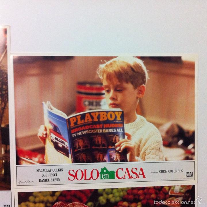 Cine: Lote completo 12 fotocromos SOLO EN CASA lobby cards HOME ALONE - Foto 11 - 54999339