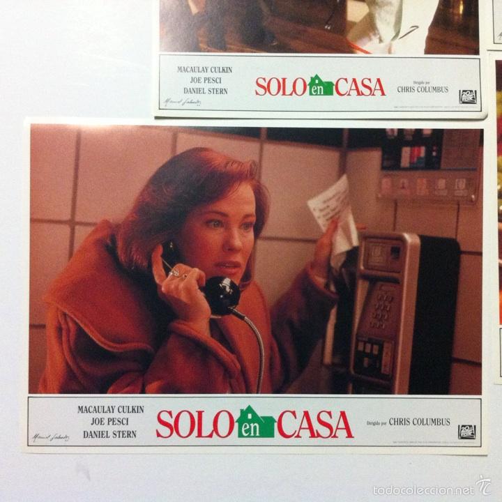 Cine: Lote completo 12 fotocromos SOLO EN CASA lobby cards HOME ALONE - Foto 12 - 54999339