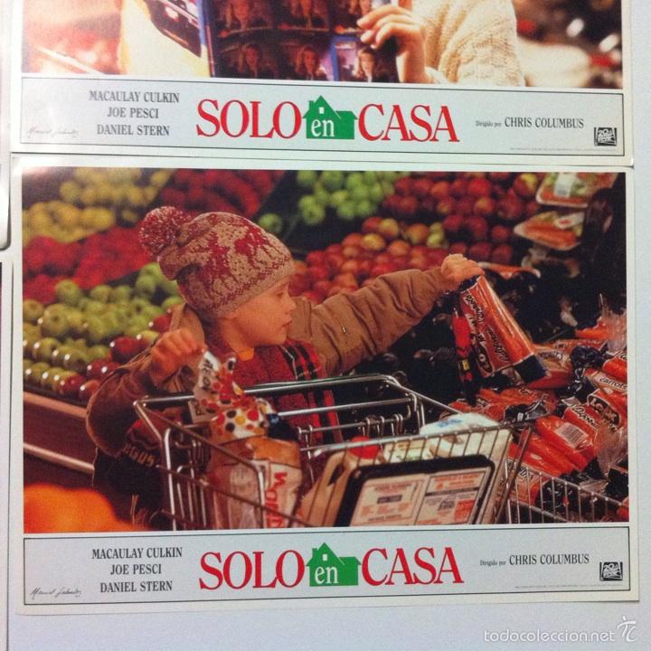 Cine: Lote completo 12 fotocromos SOLO EN CASA lobby cards HOME ALONE - Foto 13 - 54999339