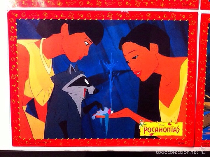 Cine: Lote 10 fotocromos POCAHONTAS lobby cards DISNEY - Foto 4 - 55054189