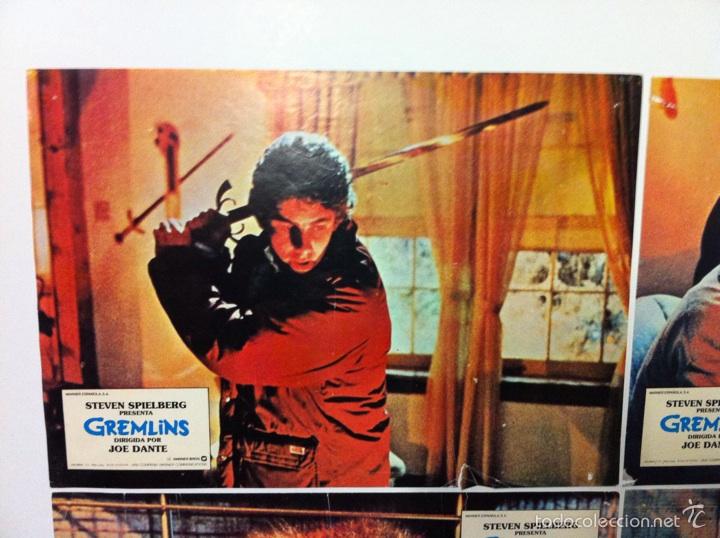 Cine: Lote 9 fotocromos GREMLINS original lobby cards - Foto 2 - 55054954