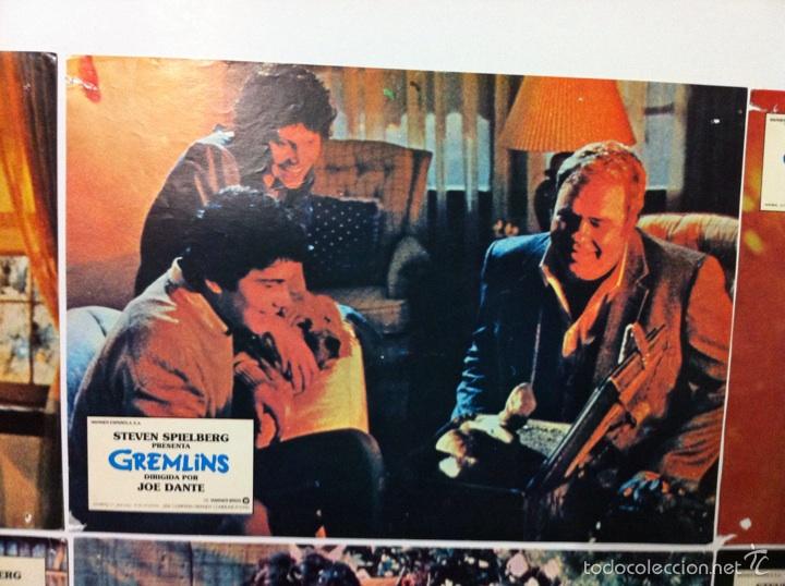 Cine: Lote 9 fotocromos GREMLINS original lobby cards - Foto 4 - 55054954